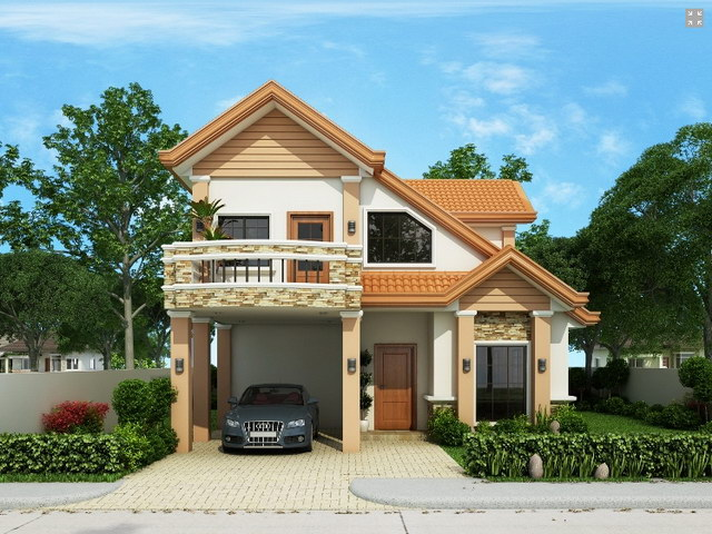 contemporary 2 storey house with impressive design (4)