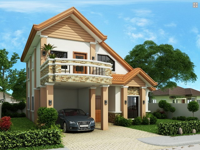 contemporary 2 storey house with impressive design (5)