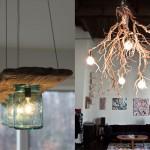 15 ไอเดีย รังสรรค์โคมไฟจากไม้ ความเก๋ไก๋ที่เหมาะกับคนรักธรรมชาติ