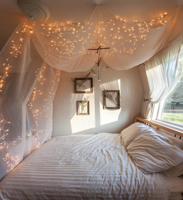 diy-bedroom-canopy-string-lights