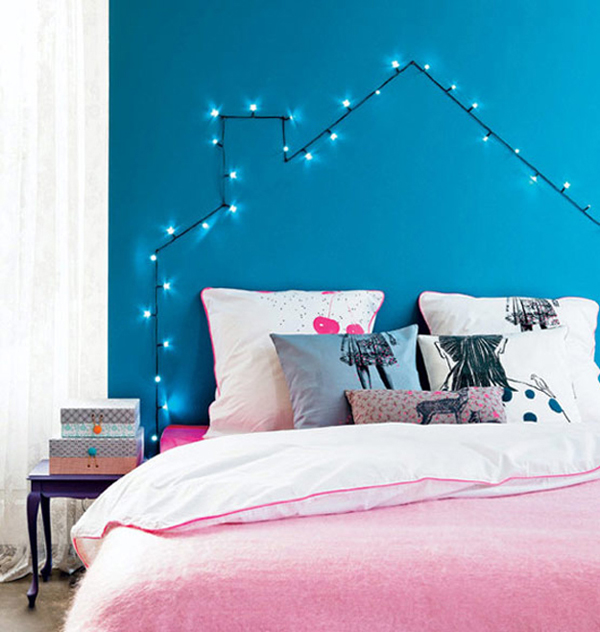 diy-faux-headboard-string-lights