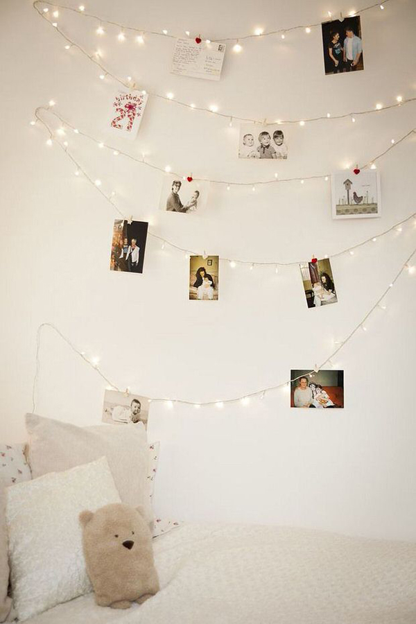 diy-photo-wall-string-lights