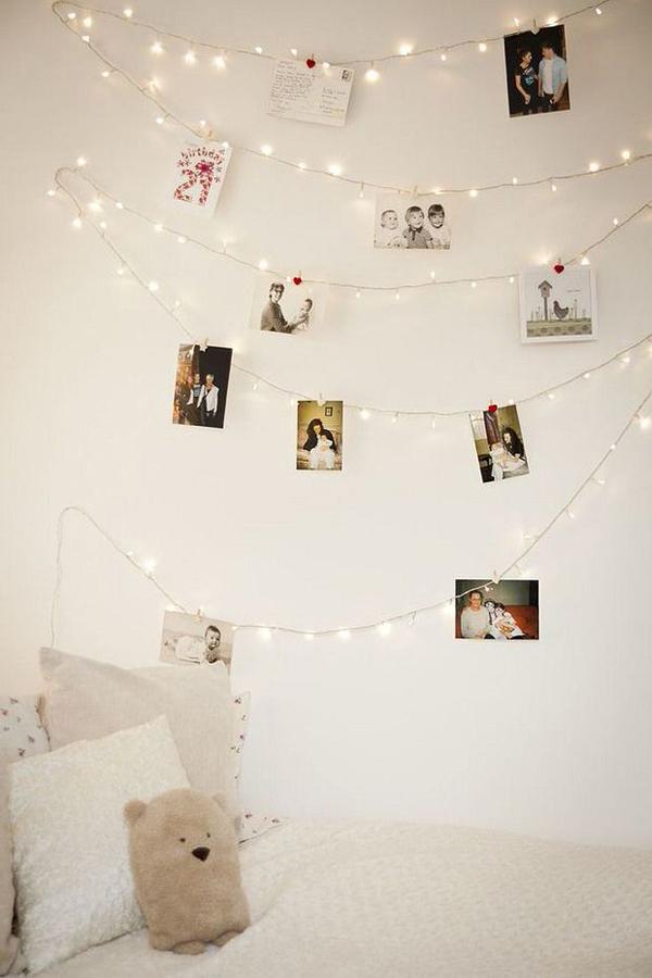diy-photo-wall-string-lights