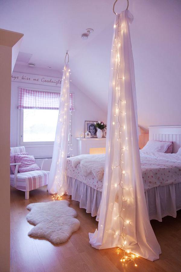 diy-string-light-bed-post