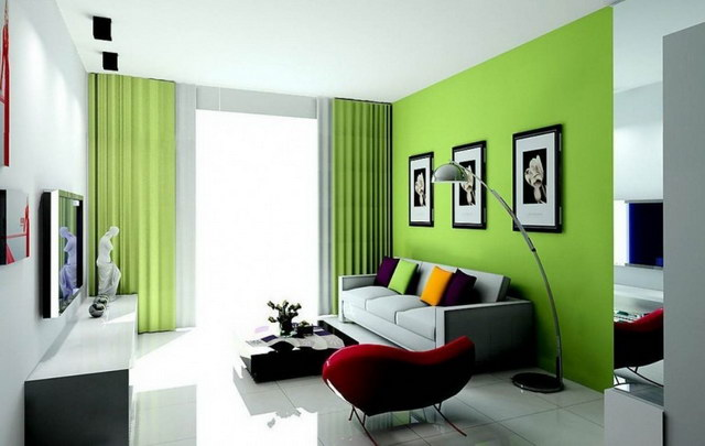 evalated Classy modern greenish house_8