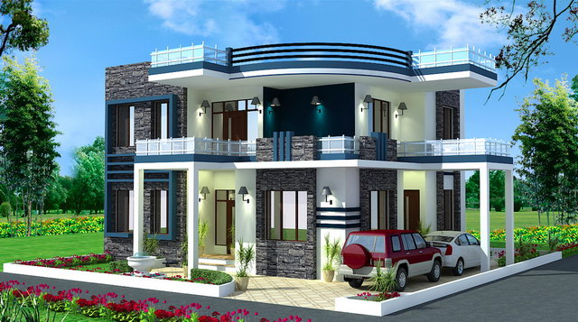 modern flatted house 4bed 3bath with stunning interior (1)