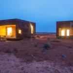 บ้านไม้ทรงกล่องสี่เหลี่ยมขนาดเล็ก พื้นที่เพียง 15 ตร.ม. เหมาะสำหรับเป็นบ้านตากอากาศ