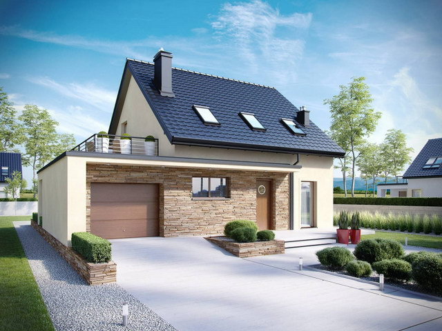 simply modern natural house with attic (2)
