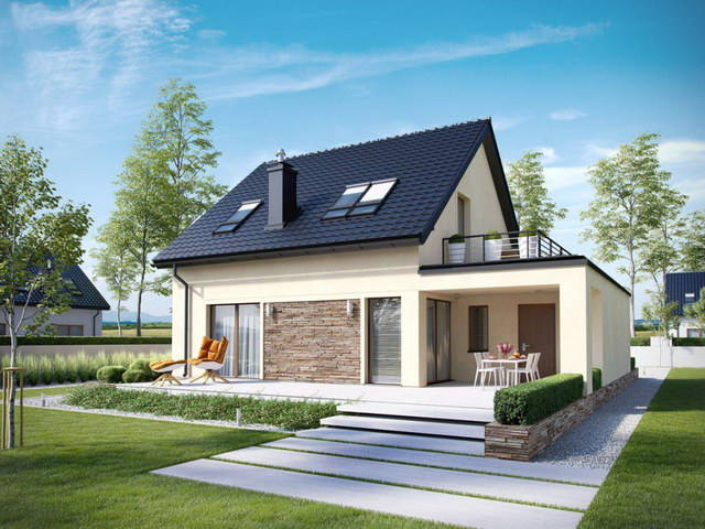 simply modern natural house with attic (3)