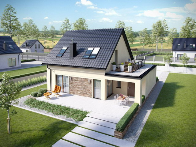 simply modern natural house with attic (4)