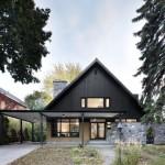 บ้านคันทรีประยุกต์ ความสวยงามของรูปทรง โทนสี และวัสดุ เพื่อครอบครัวทันสมัย