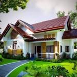 บ้านขนาดเล็กสไตล์ร่วมสมัย มิติที่สวยงามของการซ้อนชั้นหลังคา แฟมิลี่เฮ้าส์ที่เหมาะ  กับคนไทยเป็นที่สุด