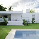 บ้านโมเดิร์นวิลล่า ความสวยงามในแนวราบ พร้อมสระว่ายน้ำและสวนสวย