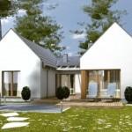 บ้านร่วมสมัยดีไซน์สวย ออกแบบเรียบง่าย เหมาะกับครอบครัวขนาดเล็ก