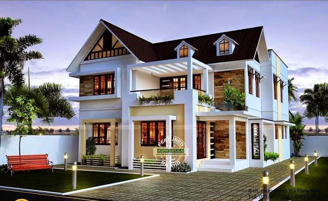 14 ravishing front elevation ideas (4)