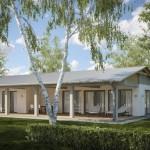 บ้านสวน 2 ห้องนอน การออกแบบที่เรียบง่าย เข้ากับการใช้งานของคนไทยเป็นที่สุด