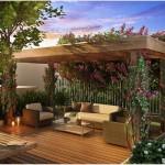 """15 ไอเดียสุดเจ๋ง """"แต่งพื้นที่เอาท์ดอร์ด้วยไม้"""" สร้างบรรยากาศนอกบ้านแสนสบายให้เป็นธรรมชาติยิ่งขึ้น"""