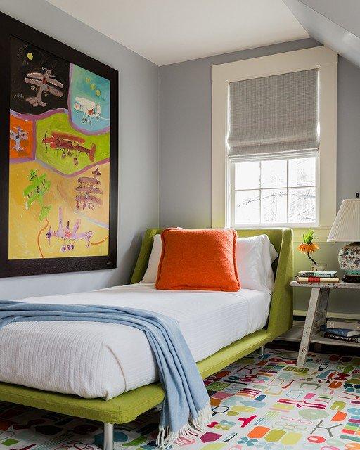 17-Vibrant-Mid-Century-Modern-Kids-Room-Interior-Designs-Your-Kids-Will-Love-1