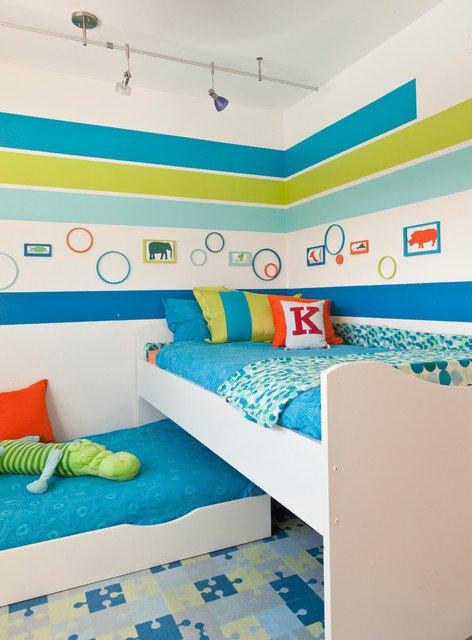 17-Vibrant-Mid-Century-Modern-Kids-Room-Interior-Designs-Your-Kids-Will-Love-10