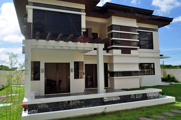 2-storey-brown-white-modern-tropical-house (8)