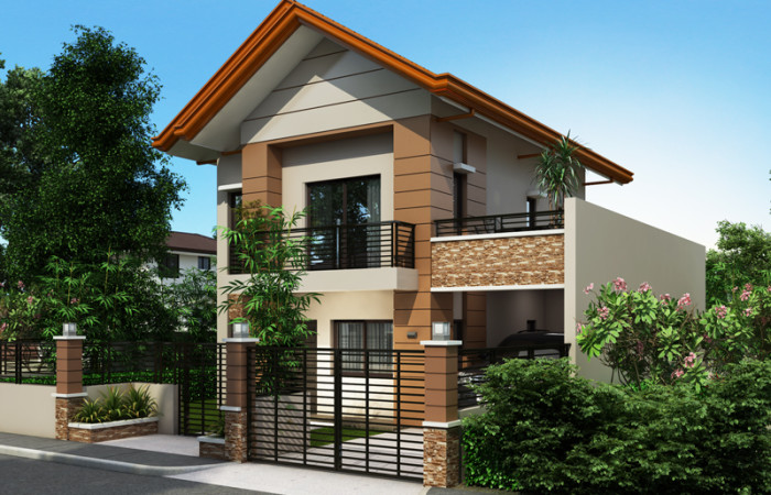 2 storey contemporary house plan (2)