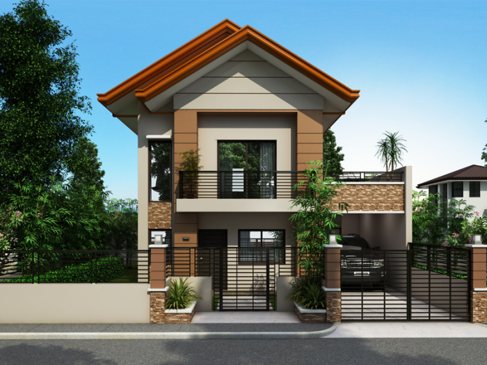 2 storey contemporary house plan (7)