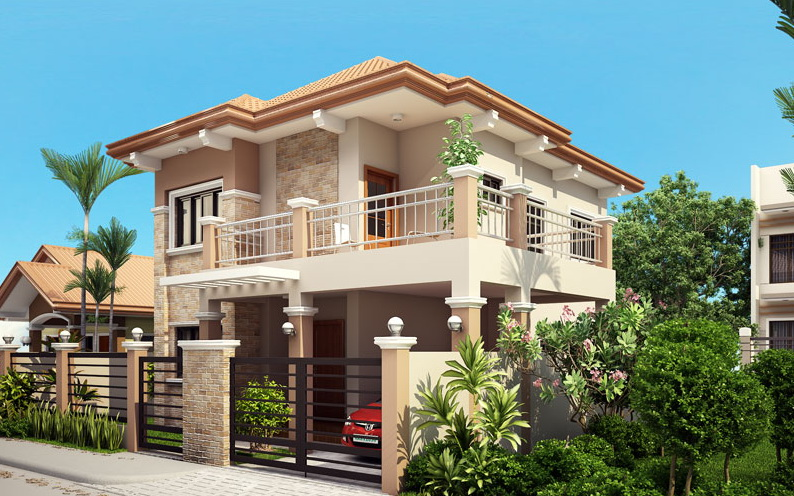2 storey contemporary house with outstanding terrace_1