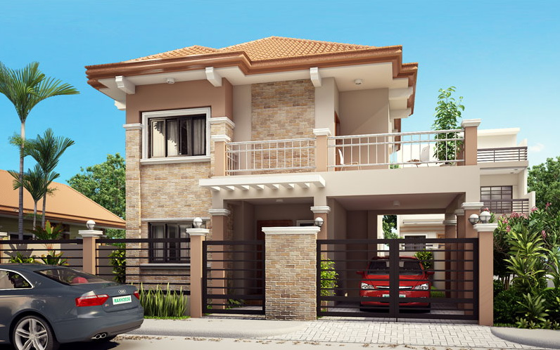 2 storey contemporary house with outstanding terrace_2