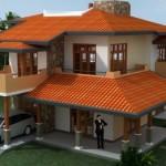 แบบบ้านสองชั้น สไตล์ร่วมสมัย โดดเด่น น่ามองทุกมุมองศา