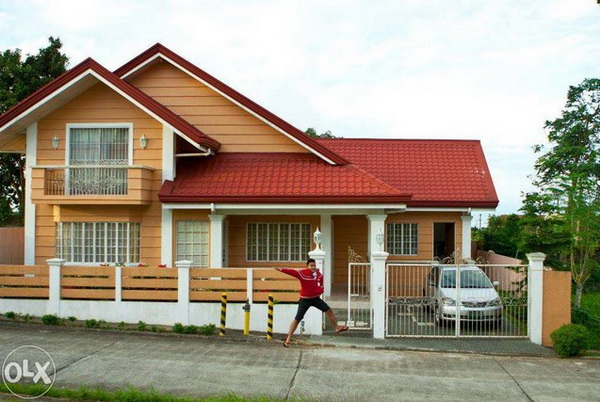 2 storey family orange house (1)