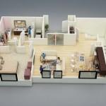 รวม 20 แบบแปลนบ้านชั้นเดียว 1 ห้องนอน แนวทางสำหรับออกแบบบ้านในฝันของคุณ