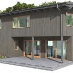 บ้านสองชั้น ออกแบบเรียบง่าย รูปทรงและวัสดุที่คุ้นตาชาวไทย