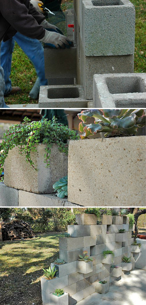 5 ways to use cinder blocks in the garden (1)