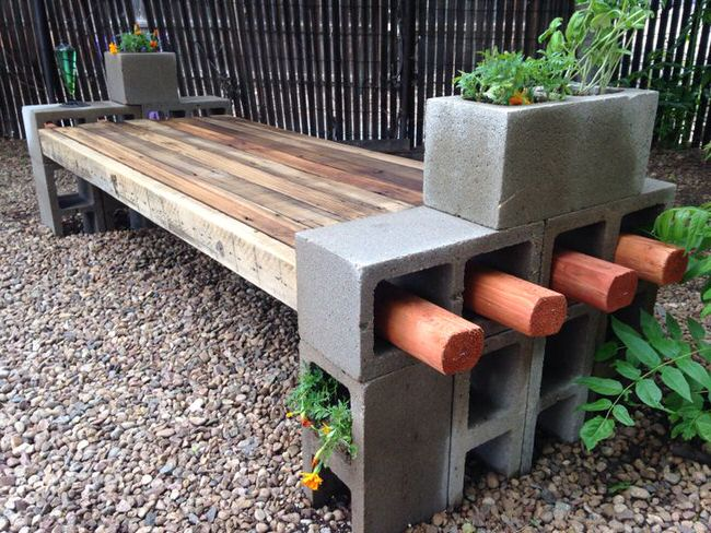 5 ways to use cinder blocks in the garden (8)