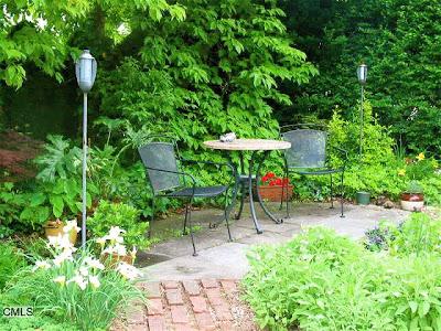 Brick Path in Garden