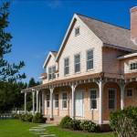 บ้านคันทรีสองชั้น ความสวยงามที่อ่อนหวาน ตกแต่งภายในโทนสว่าง