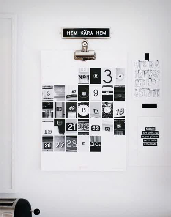 DIY-collage-wall-calendar