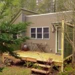บ้านไม้กลางป่า ออกแบบแนวสตูดิโอสไตล์โมเดิร์น ครบครันทันสมัยในขนาดกะทัดรัด