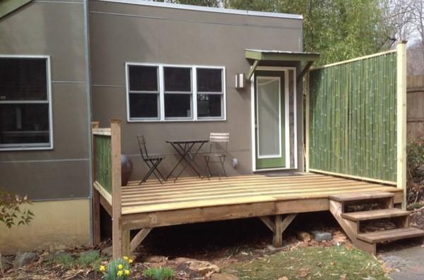 Modern Studio Cabin Retreat in the woods (8)