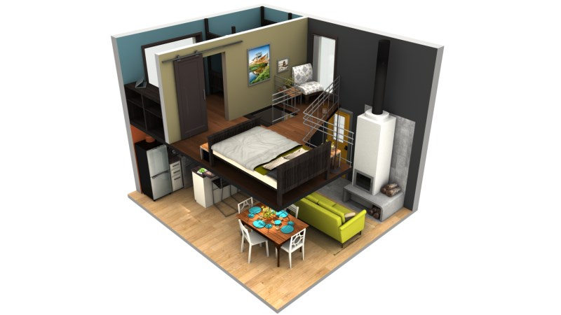3 - Small homes big space collection ...