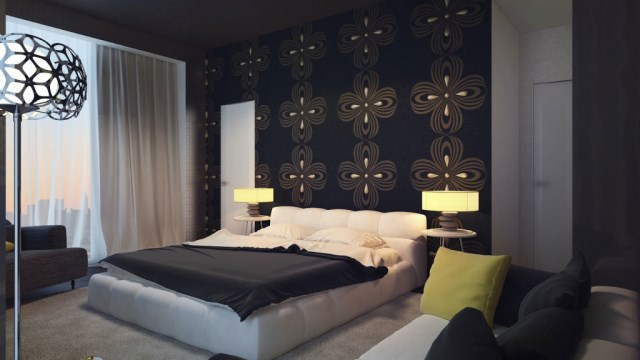black-dark-brown-swirl-wall-feature-bedroom-my-design-review-1024x576