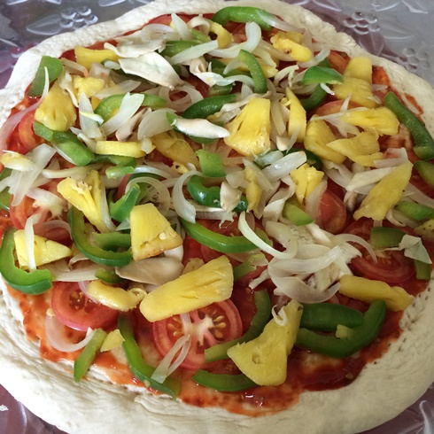 cheesy vegan pizza recipe (4)