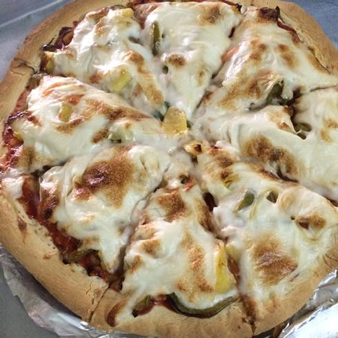 cheesy vegan pizza recipe (9)