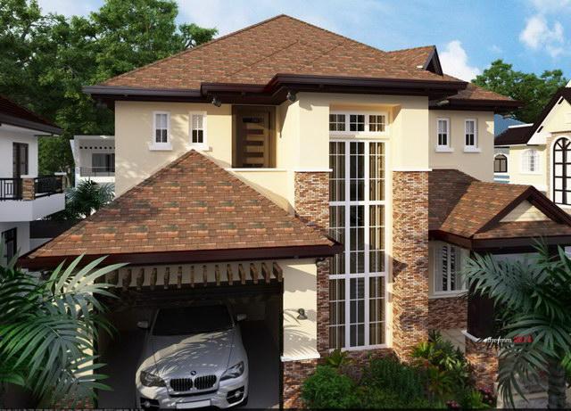 contemporary elegant 2 storey house (3)