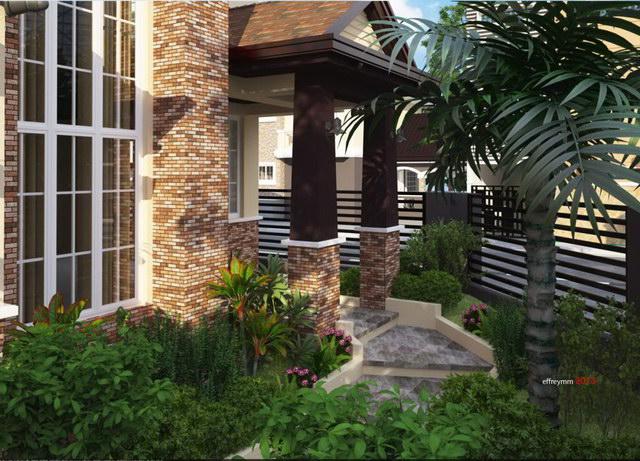 contemporary elegant 2 storey house (4)