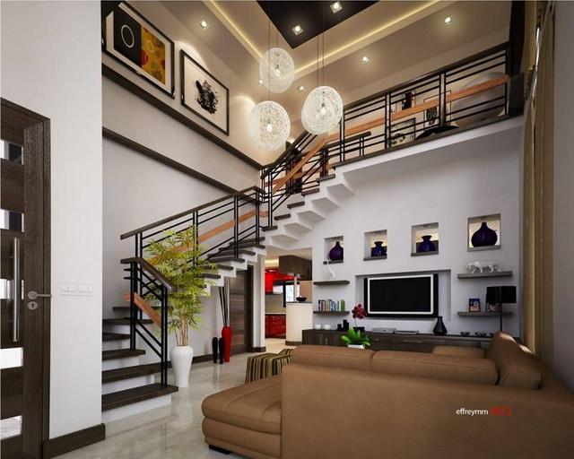 contemporary elegant 2 storey house (5)