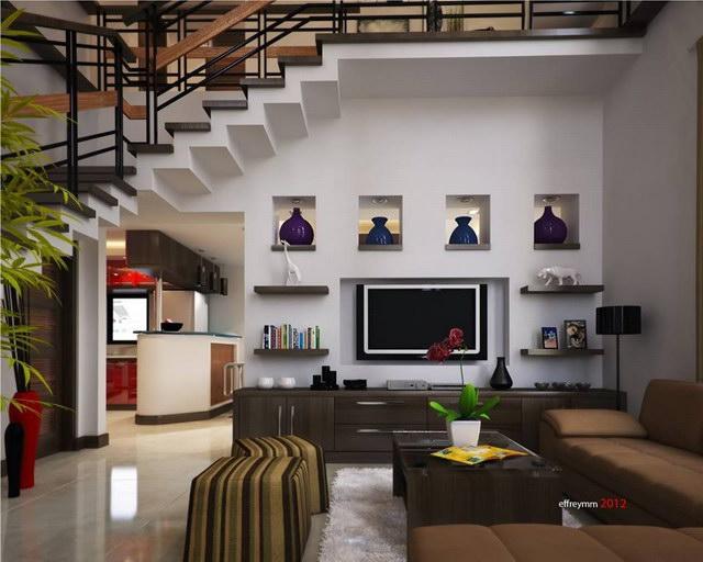 contemporary elegant 2 storey house (6)