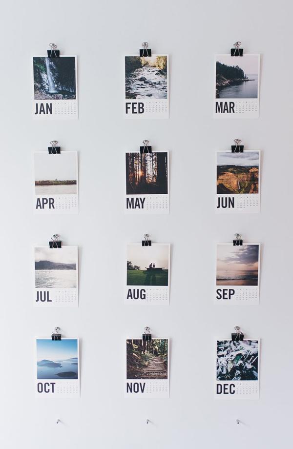 diy-cool-photo-wall-calendar
