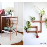 19 ไอเดีย DIY ท่อทองแดง เป็นของใช้ภายในบ้าน กลิ่นอายลักชูรี่