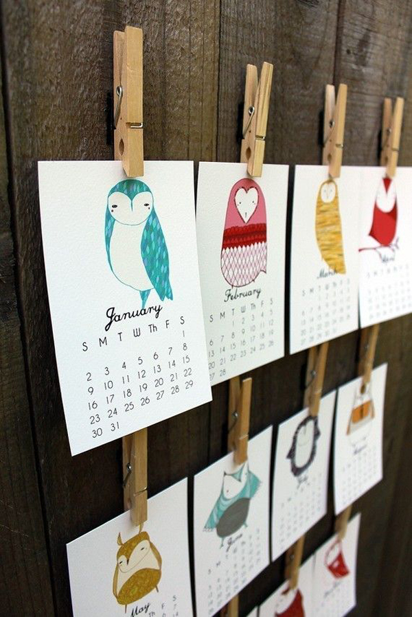little-owls-wall-calendar